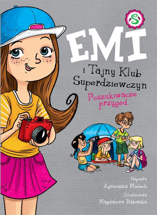 okładka Emi i Tajny Klub Superdziewczyn Poszukiwacze przygódksiążka |  | Agnieszka Mielech