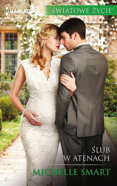 okładka Ślub w Atenach, Książka | Michelle Smart