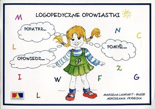 okładka Logopedyczne opowiastki Kolorowanka, Książka | Marzena Lampart-Busse, Mirosława Frydecka