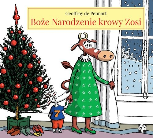 okładka Boże Narodzenie krowy Zosiksiążka      Pennart Geoffroy