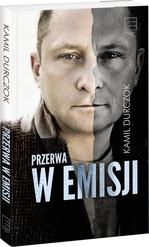 okładka Przerwa w emisji, Książka | Durczok Kamil
