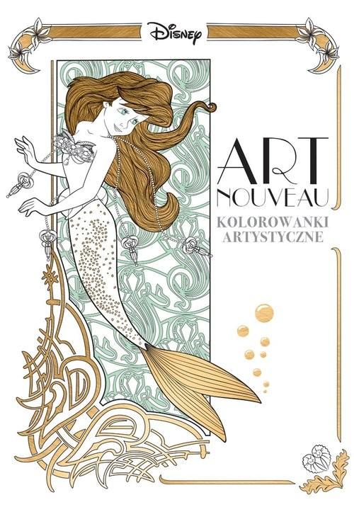okładka Art nouveau Kolorowanki artystyczne, Książka |