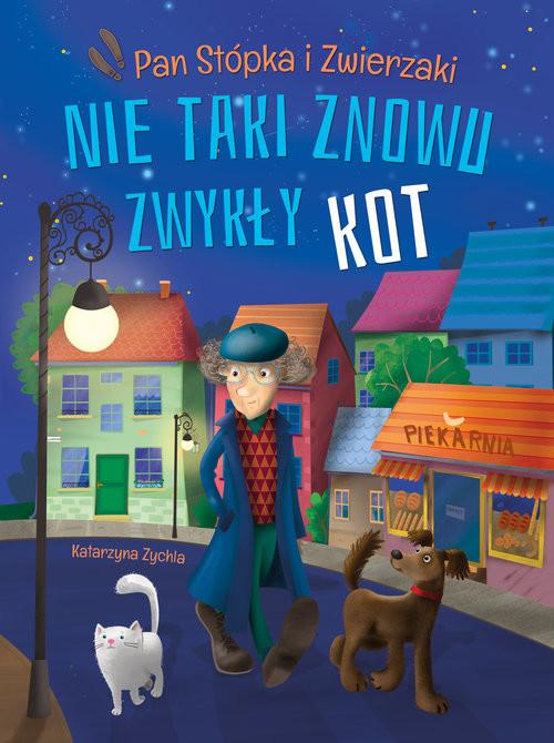 okładka Nie taki znowu zwykły kot, Książka | Zychla Katarzyna