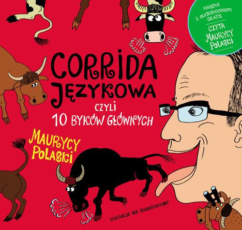 okładka Corrida językowa, czyli 10 byków głównych + CD, Książka | Polaski Maurycy