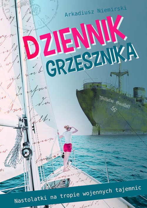 okładka Dziennik grzesznika, Książka | Arkadiusz Niemirski