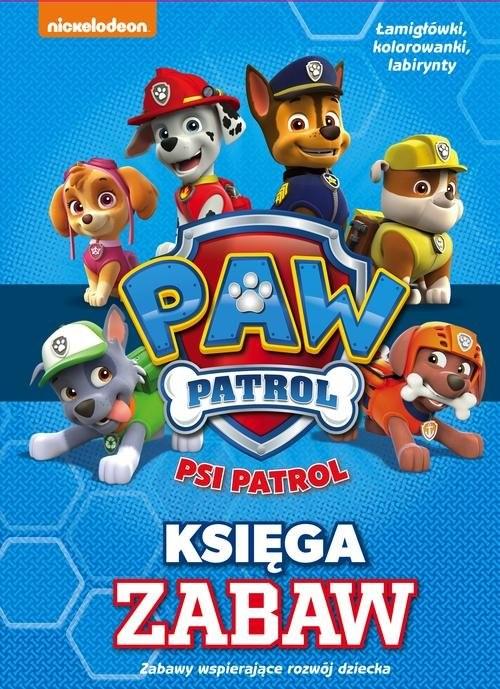 okładka Psi Patrol Księga Zabaw, Książka  