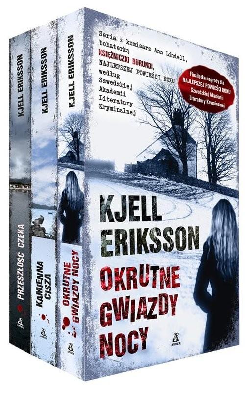 okładka Okrutne gwiazdy nocy / Kamienna cisza / Przeszłość czeka pakiet, Książka | Eriksson Kjell