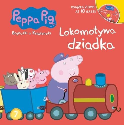 okładka Świnka Peppa Bajeczki z książeczki 7 Lokomotywa dziadka, Książka  