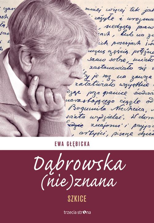 okładka Dąbrowska (nie)znana Szkice, Książka  