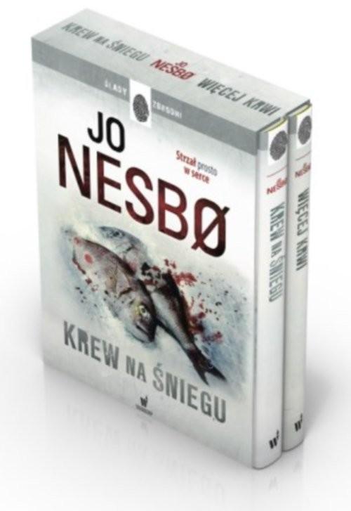 okładka Krew na śniegu / Więcej krwi Pakiet, Książka | Nesbo Jo