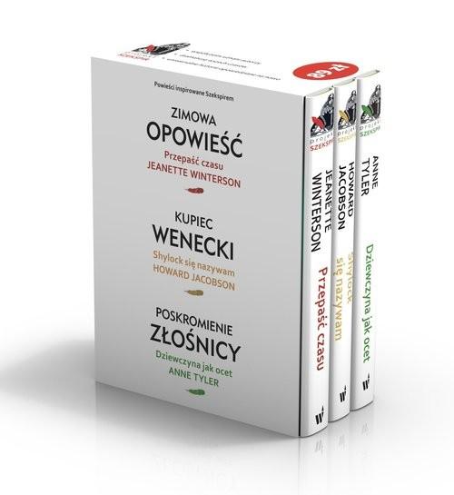 okładka Zimowa opowieść / Poskromienie złośnicy / Kupiec wenecki pakiet, Książka | Jeanette Winterson, HOWARD JACOBSON, An Tyler