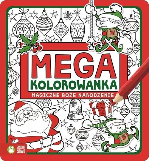 okładka Megakolorowanka Magiczne Boże Narodzenie, Książka |