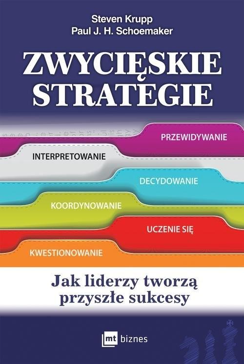 okładka Zwycięskie strategie Jak liderzy tworzą przyszłe sukcesyksiążka |  | Steven Krupp, Paul J. H. Schoemaker