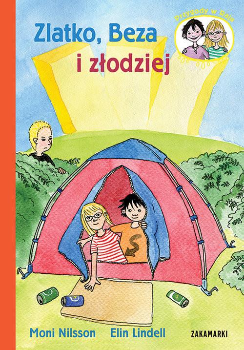 okładka Zlatko, Beza i złodziej, Książka | Nilsson Moni