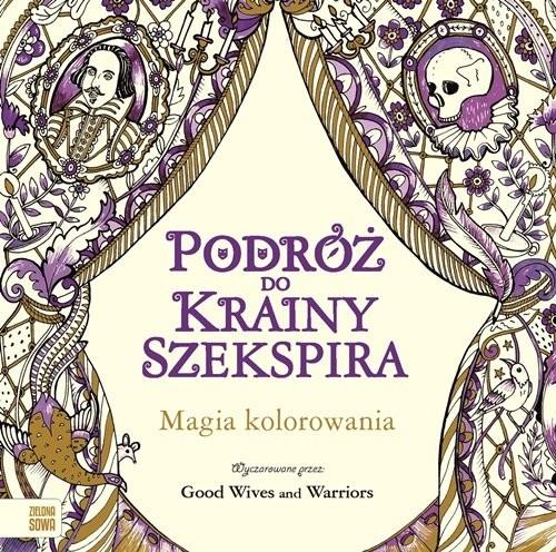 okładka Podróż do krainy Szekspira Kolorowanka, Książka |