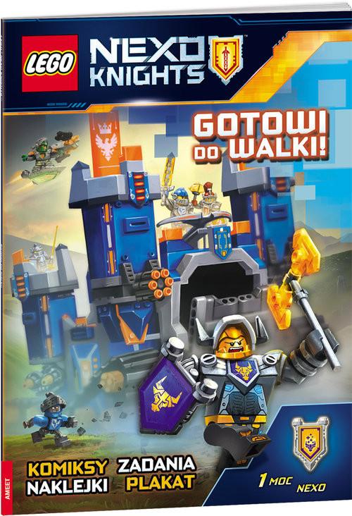 Lego Nexo Knights Gotowi Do Walki Lnd 801 Książka Woblinkcom