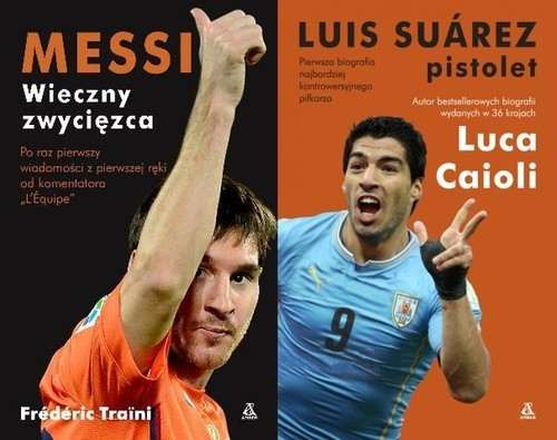 okładka Messi / Suarez Pakiet, Książka | Luca Caioli, Frédéric TRAÏNI