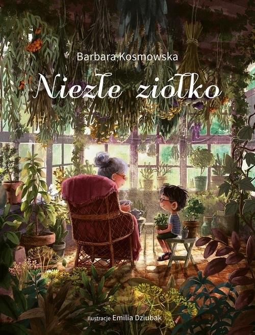okładka Niezłe ziółko, Książka | Kosmowska Barbara