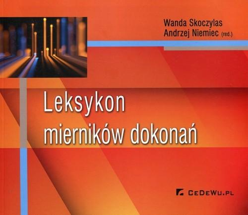 okładka Leksykon mierników dokonań, Książka |