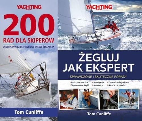 okładka Pakiet 200 rad dla skiperów / Żegluj jak ekspert Pakietksiążka |  | Cunliffe Tom