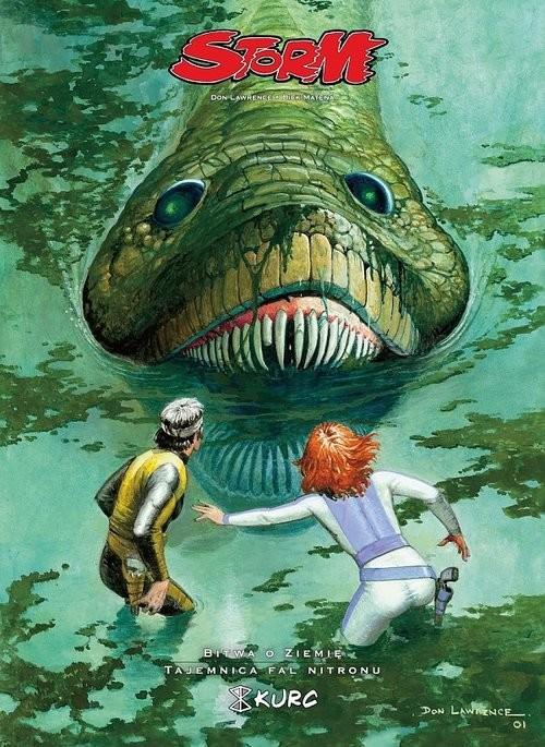 okładka Storm 3 Bitwa o ziemię Tajemnica Fal Nitronu, Książka | Dick Matena, Don Lawrence