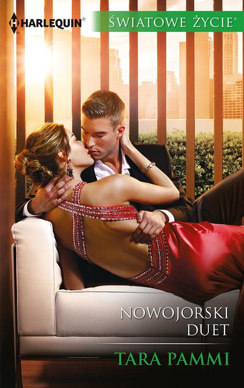 okładka Nowojorski duet, Książka | Tara Pammi
