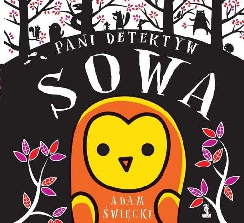 okładka Pani Detektyw Sowa, Książka | Święcki Adam