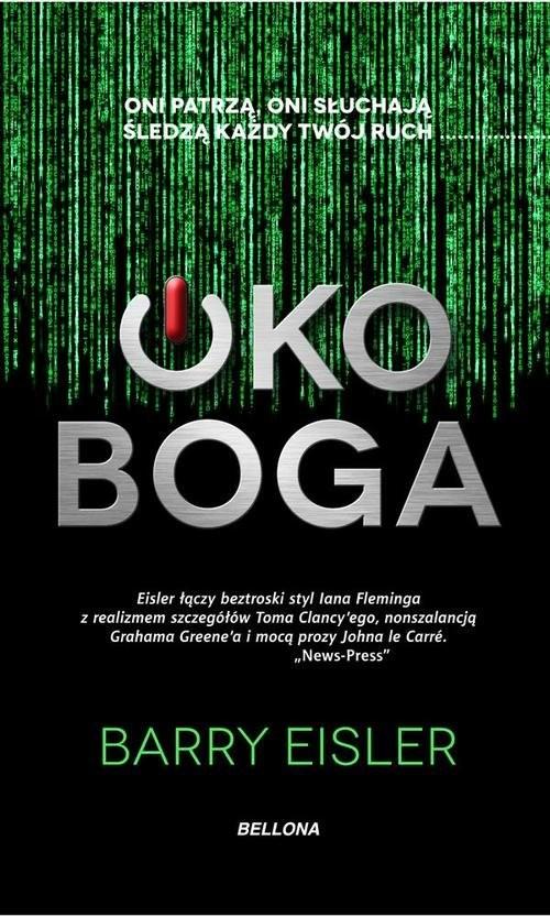 okładka Oko Boga, Książka | Eisler Barry