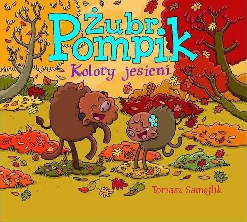 okładka Żubr Pompik Kolory jesieni, Książka | Samojlik Tomasz