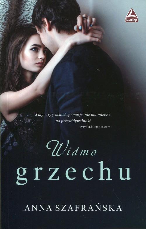 okładka Widmo grzechu, Książka | Szafrańska Anna