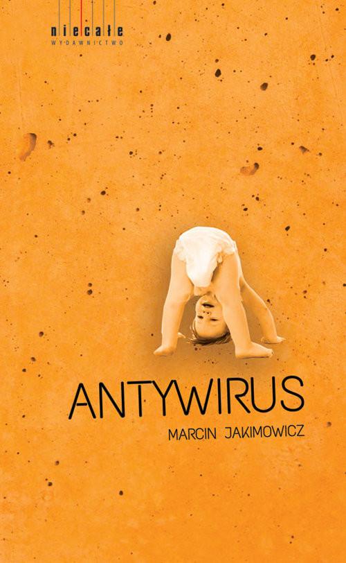 okładka Anntywirus, Książka | Jakimowicz Marcin