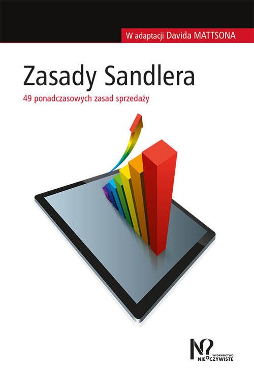 okładka Zasady Sandlera 49 ponadczasowych zasad sprzedaży, Książka | Mattson David