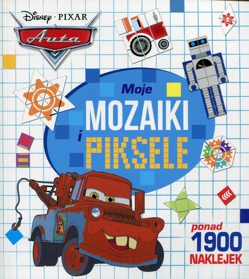 okładka Auta Moje mozaiki i piksele, Książka |