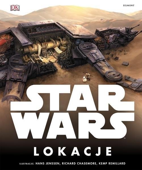 okładka Star Wars Lokacje, Książka | Kristin Lund, Jason Fry, Simon Beecroft, Doug