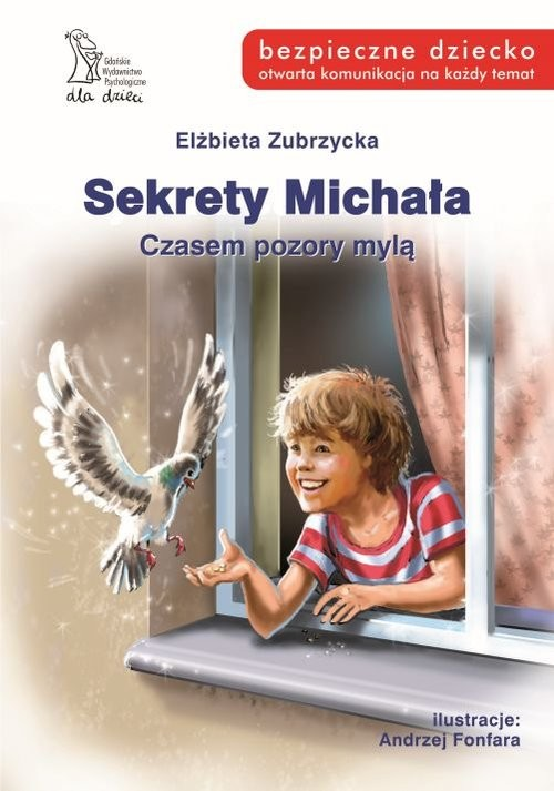 okładka Sekrety Michała Czasempozory mylą, Książka | Zubrzycka Elżbieta