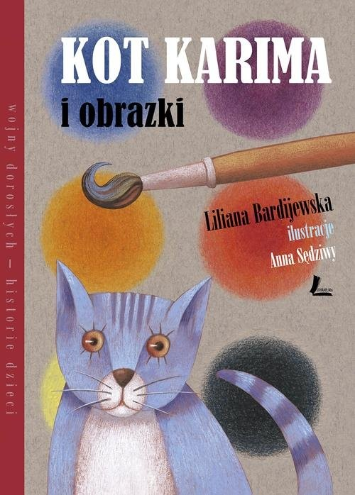okładka Kot Karima i obrazki, Książka | Bardijewska Liliana