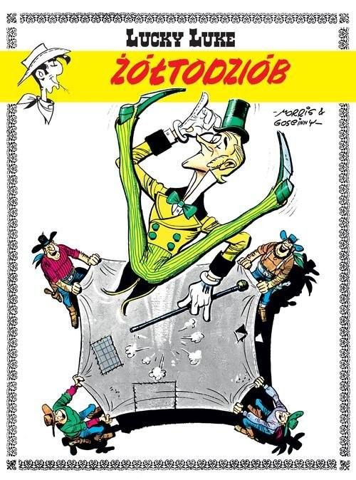 okładka Lucky Luke Żółtodziób, Książka | Goscinny Rene