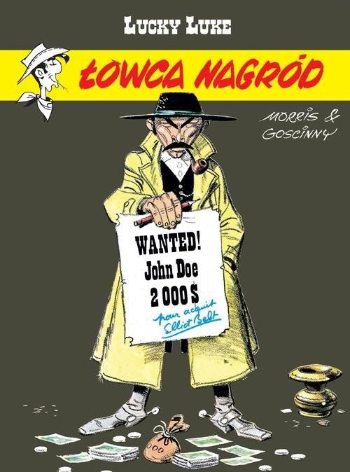 okładka Lucky Luke Łowca nagród, Książka | Goscinny Rene