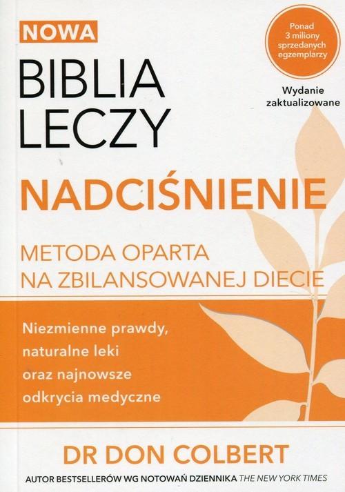 okładka Nowa Biblia leczy Nadciśnienie, Książka | Colbert Don