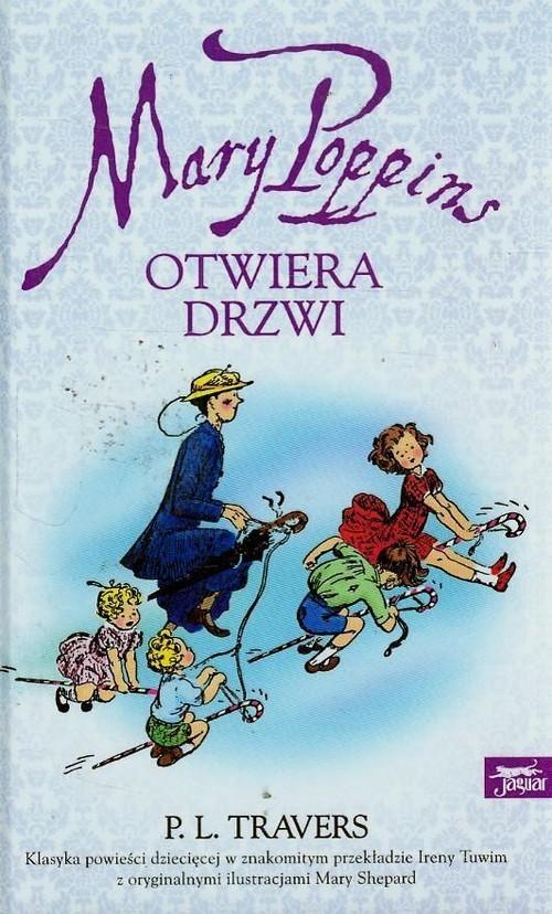 okładka Mary Poppins otwiera drzwi, Książka | Pamela L. Travers