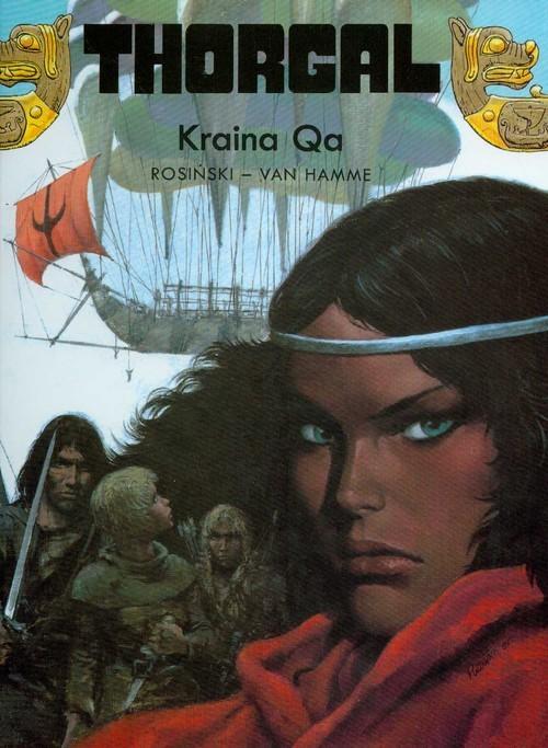 okładka Thorgal Kraina Qa Tom 10, Książka | Grzegorz Rosiński, Jean Hamme
