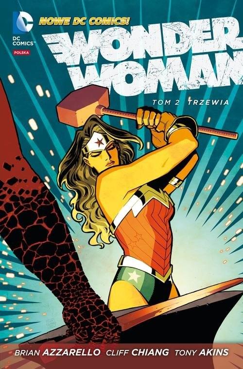okładka Wonder Woman Trzewia Tom 2książka |  | Brian Azzarello