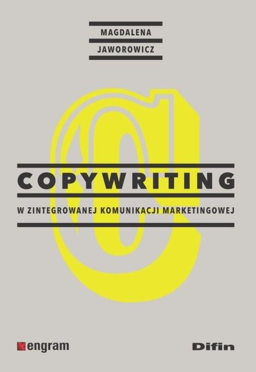 okładka Copywriting w zintegrowanej komunikacji marketingowej, Książka | Magdalena Jaworowicz