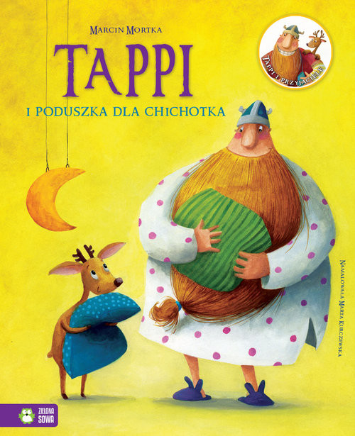 okładka Tappi i poduszka dla Chichotka, Książka | Marcin Mortka