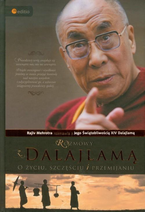 okładka Rozmowy z Dalajlamą O życiu, szczęściu i przemijaniu, Książka |
