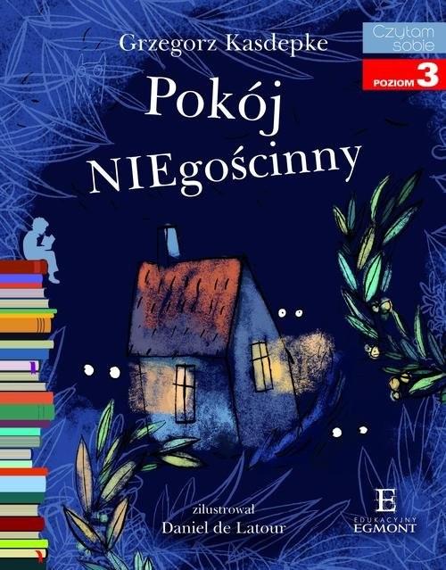 okładka Pokój NIEgościnny Czytam sobie poziom 3, Książka | Grzegorz Kasdepke