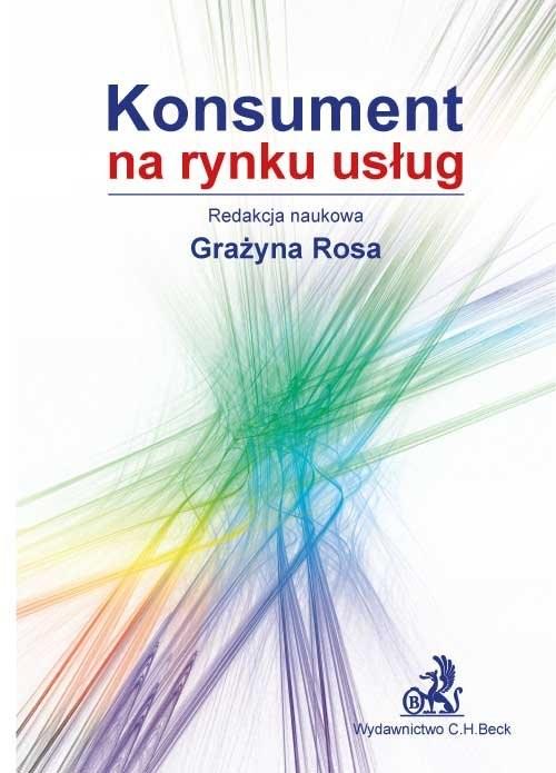 okładka Konsument na rynku usług, Książka | Grażyna Rosa