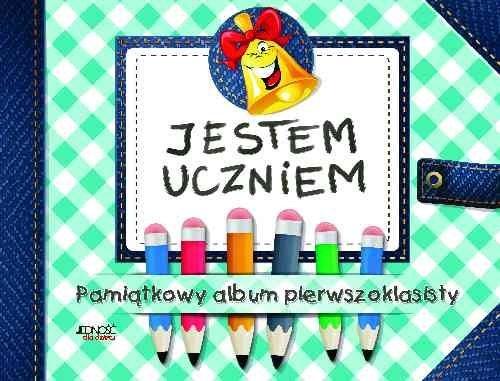 okładka Jestem uczniem Pamiątkowy album pierwszoklasisty, Książka   Skwark Dorota