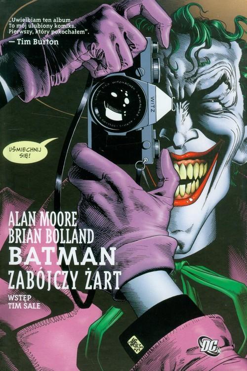 okładka Batman Zabójczy żartksiążka |  | Alan Moore, Brian Bolland