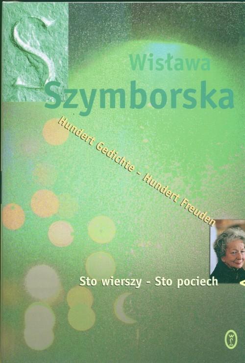 okładka Sto wierszy - sto pociech, Książka | Wisława Szymborska